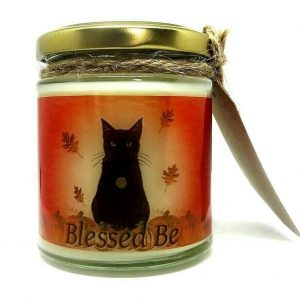 Black Cat Scented Candle