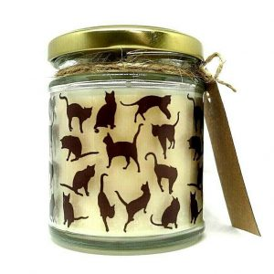 Black Cats Scented Candle