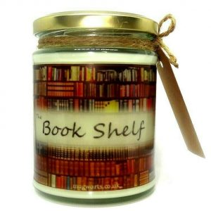 Book Shelf Scented Candle