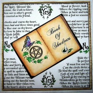 Book of Shadows Scrying Mat