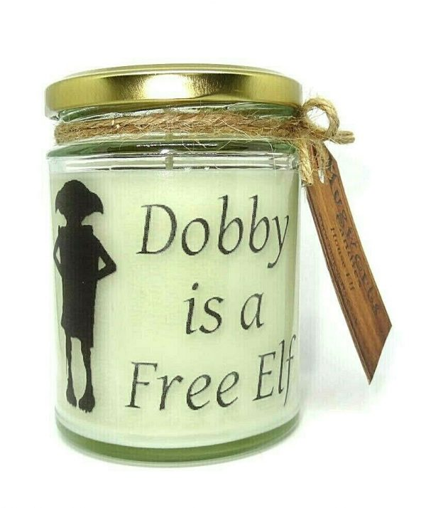 Dobby Quote Scented Candle
