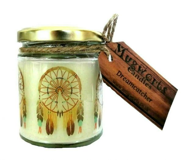 Dreamcatcher Scented Jar Candle