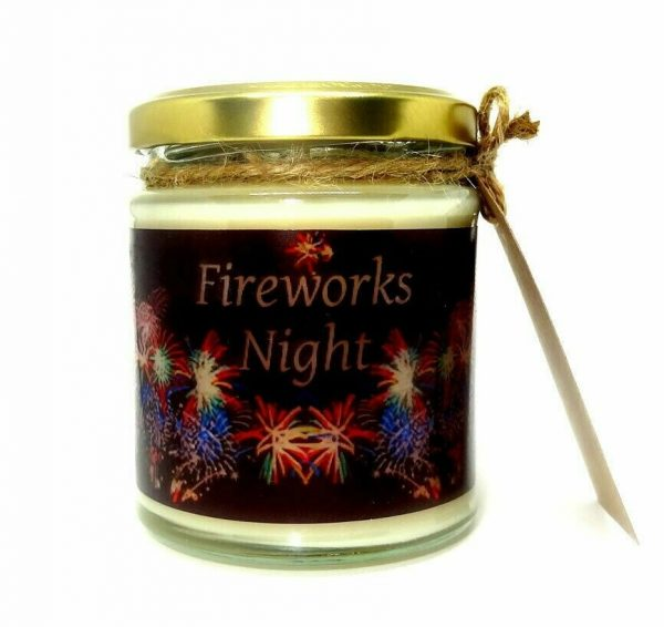 Fireworks Night Scented Candle