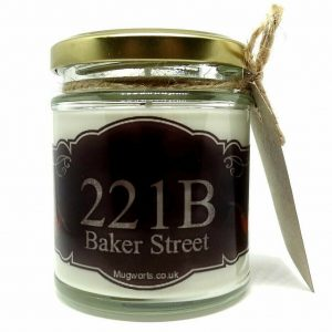 Sherlock Inspired Scented Candle