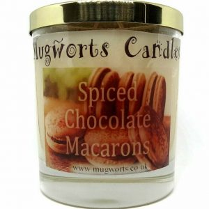 Spiced Chocolate Macaroons Candle