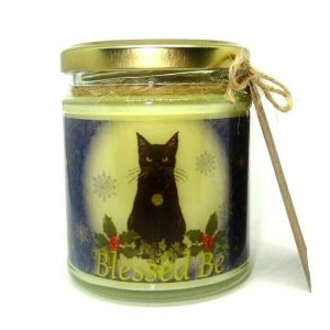 Yule Black Cat Scented Candle