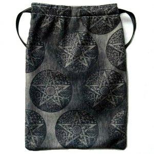 Black & Grey Tarot Bag