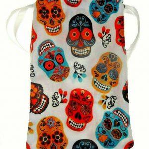 Candy Skull Tarot Bag