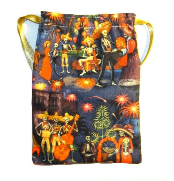 Day of the Dead Festival Tarot Bag