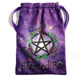 Fairy Pentacle Tarot bag