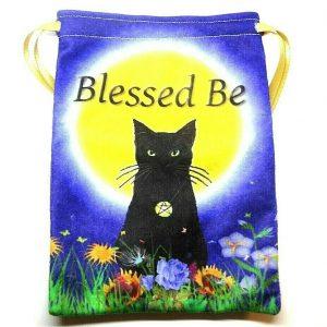Litha Black Cat Tarot Bag