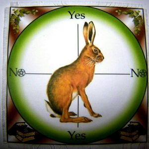 Magical Hare Scrying Mat