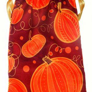 Pumpkin Design Tarot Bag