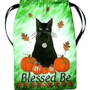 Samhain Cat Tarot Bag