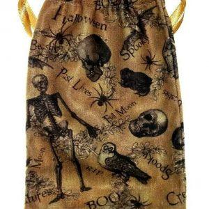 Spooky Halloween Tarot Bag