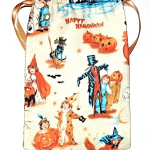Vintage Halloween Tarot Bag
