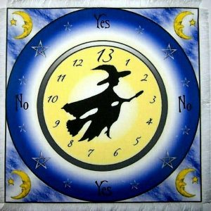 Witching Hour Scrying Mat
