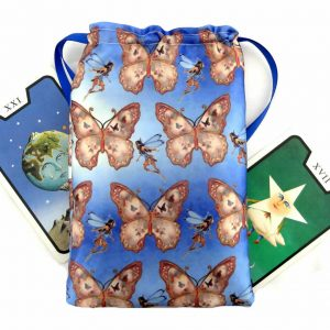 Satin Fairy & Butterfly Tarot Bag